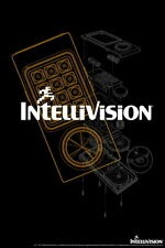 101261 Intellivision Controller White Logo Gaming Decor LAMINATED POSTER AU