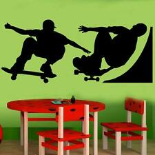 LARGE Skateboard WALL decor STICker bedroom kids boy