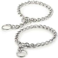Choke Chain Dog Collar Selections - Great for Training! High Quality Low Prices!