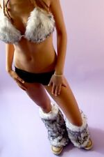 Faux Fur Leg Warmers (Fluffies) One size fits all