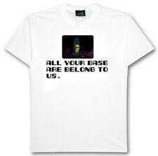 All Your Base Are Belong To Us t-shirt of Youtube clip!