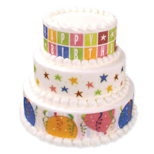HAPPY VARIETY EDIBLE DESIGNER CAKE PRINT  IMAGES