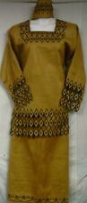African Women Attire Skirt Suit Outfit One Size Doesn't Com S M L XL 1X 2X 3X 4X