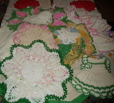 Hand Crocheted Doilies Dresser Scarves ~ Lots of styles