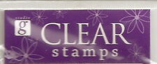 STUDIO G ~ Acrylic Clear Stamps  Many Varieties - POP