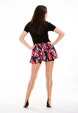 Cuban Heel Black Seamed Stockings 12 Different Colours