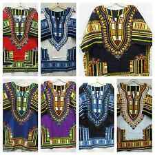 African Clothing Men Hippie Dashiki Blouse One Size Doesn't Come M L XL 1X 2X 3X