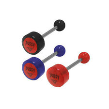 Pussy Logo Barbell Tongue Rings - 00770-92