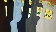 WIDE LEG JEANS FOR MEN. SOLO SEMORE AMERICAN MADE. 30L ALL SIZES UP TO 50 WAIST