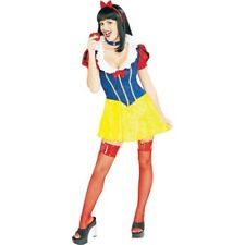 Womens Adult Sexy Fairy Tale SNOW WHITE Dress Costume