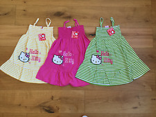 Girls NWT HELLO KITTY SUN DRESS SUNDRESS BEACH STRAPPY 4 5 6 7 8 9 10 11 12 YRS