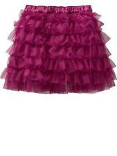 NEW Baby GAP Soft Ruffled Tiered Tulle Skirt Tutu Cerise NWT 18-24 months
