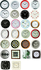 Large Wall Clock Choose From 26 Designs Modern & Retro