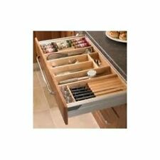 Cutlery Trays Suits Tandembox Kitchen Draws Solid Beech Drawer Inserts Quality