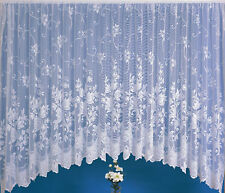 JARDINIERE net curtains all drops and widths FREE P&P , polyester mix