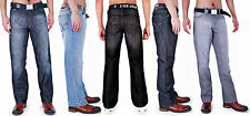 MENS AD CLASSIC JEANS WITH BELT 28 30 32 34 36 38 40 42 44 46 48 50 52 54