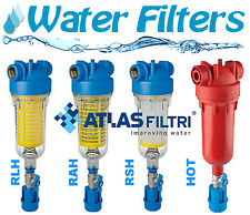 Water Filters ATLAS - HYDRA RAH/RLH - with back-wash, Plastic, max temp.45 C