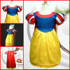 Celebration Snow White Princess Girls Dress Costume 3-8