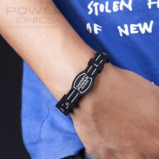 Power Ionics Smart Bracelet Titanium Ion Band Balance Energy