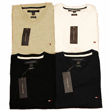 Tommy Hilfiger T-shirt Custom Fit V Neck Short Sleeve Mens Shirt Nwt All Sizes