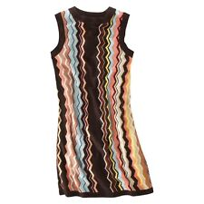 Missoni for Target Womens Sleeveless Sweater Dress Zigzag Multi Sizes NWT