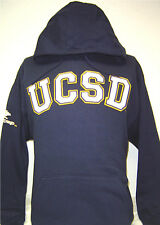 Navy Blue UCSD University of California San Diego Tritons Hoodie Pullover Jacket