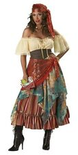 FORTUNE TELLER GYPSY COSTUME ELITE BOHEMIAN COLLECTION  S(4-6) L(12-14)