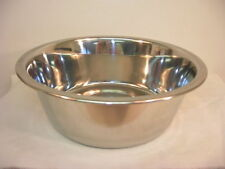 STAINLESS STEEL DOG/CAT/PET FOOD WATER DISH BOWL NEW