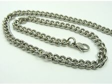 ~Custom Made~  High Quality STAINLESS STEEL Various Style Curb CHAIN NECKLACE