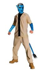 Mens Adult James Camerons Avatar Jake Sully Hunter Costume Outfit