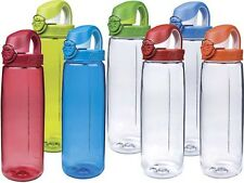 Nalgene On The Fly Tritan Bottles Assorted Colors One Hand Operation MADE IN USA