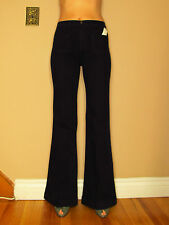 $218 J Brand Bette High-Rise Wide Leg Flare Trousers Jeans Indigo Marine 24 New