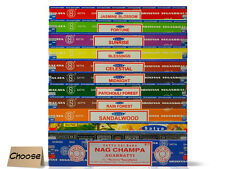 CHOOSE: 15 Gram Nag Champa Incense Sticks - Satya Sai Baba