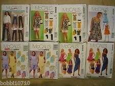 McCALLS WOMENS PLUS SIZE PATTERN 18 20 22 24 26 28 30 32 U PICK 1 NW 29 STYLES