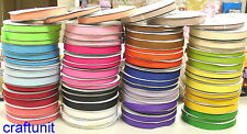 "5/8"" (~16mm) Plain Grosgrain Ribbon H012  20 colors U PICK"