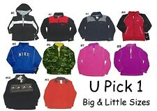 JACKET LITTLE BOYS GIRLS NWT ZIP UP & PULL OVER NIKE or ARIZONA 12 MO TO 5T