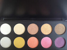 EYESHADOW COLOURS STRONG PIGMENTS FOR MAKEUP PALETTE SINGLE COLOUR ONLY