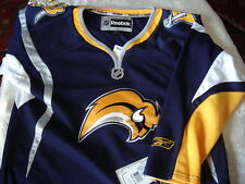 NWT NHL BUFFALO SABRES NHL REEBOK RBK CCM JERSEY AUTHENTIC,YOUTH UNISEX