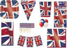 BEST OF BRITISH - UNION JACK ITEMS - ROYAL DIAMOND JUBILEE STREET PARTY OLYMPICS
