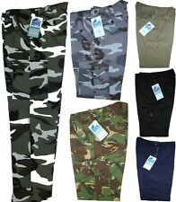 """Mens Combat Trousers - Cargo Trousers - Camouflage Trousers - Sizes 30""""-40"""" New"""
