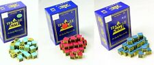 12,9,6,4,2 PCS OF TRIANGLE POOL/SNOOKER TABLES CHALKS, GREEN, RED, BLUE, MIXED