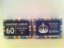 Queen Elizabeth Diamond Jubilee British Souvenir Standing Union Jack Block 2012