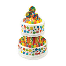 CANDY BIRTHDAY EDIBLE DESIGNER CAKE PRINTS - ASSORTED