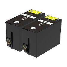 2 XL Black Ink Cartridges non-OEM to replace T1301 Compatible for Printers