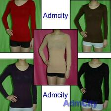 Slimming Long Sleeve Camisole Shapewear Vest Tops Body Fitness Body Sculpting