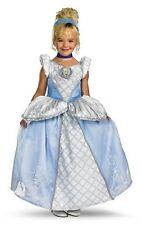Girls Child DISNEY Prestige Cinderella Princess Costume