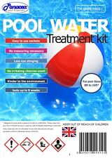 Non Chlorine Free Swimming Pool Chemical treatment Starter Kit with no measuring