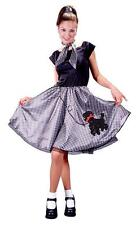 Adult 50s Bobby Soxer Sock Hop Poodle Costume Halloween