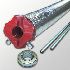 """One - .250 Garage Door Torsion Spring- 2"""" ID - Up to 36"""" in length- Galvanized"""