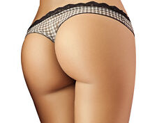Besame High Quality Black Sexy Thong #SL4391 - Colombian Lingerie